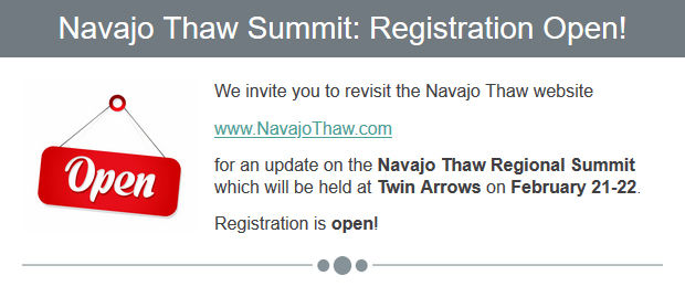email-blast-navajo-thaw-summit-registration-open