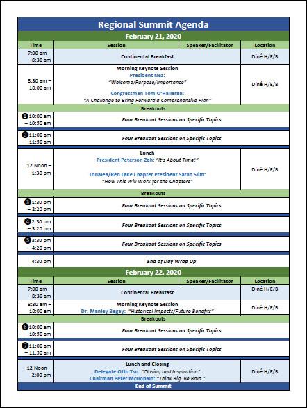 navajo-thaw-summit-agenda