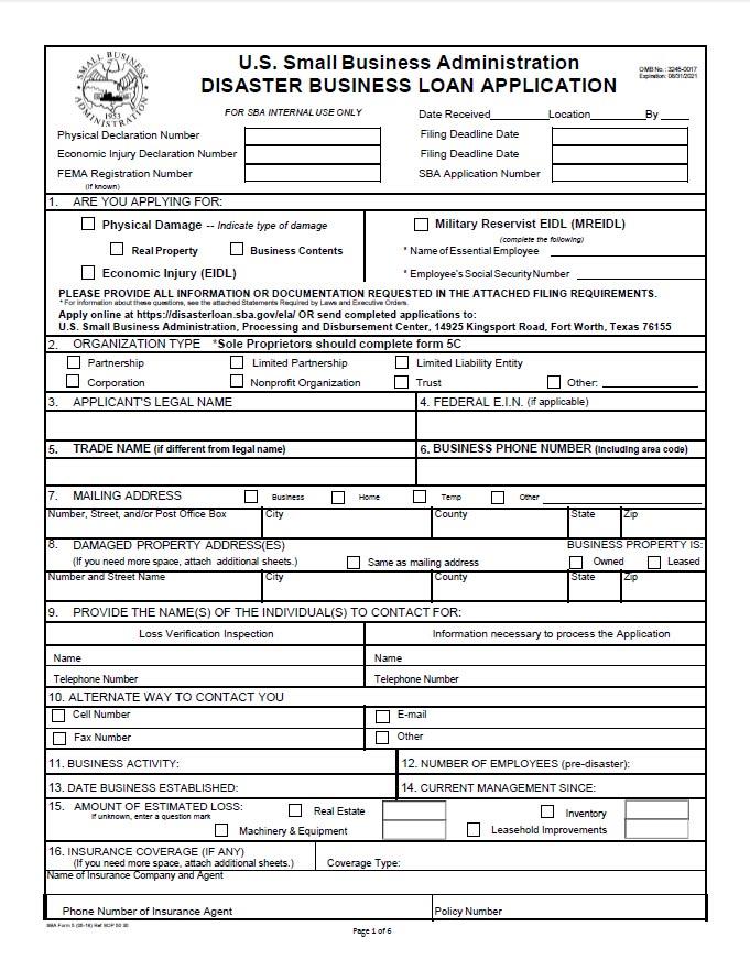 SBA-Business-Loan-Application-2020