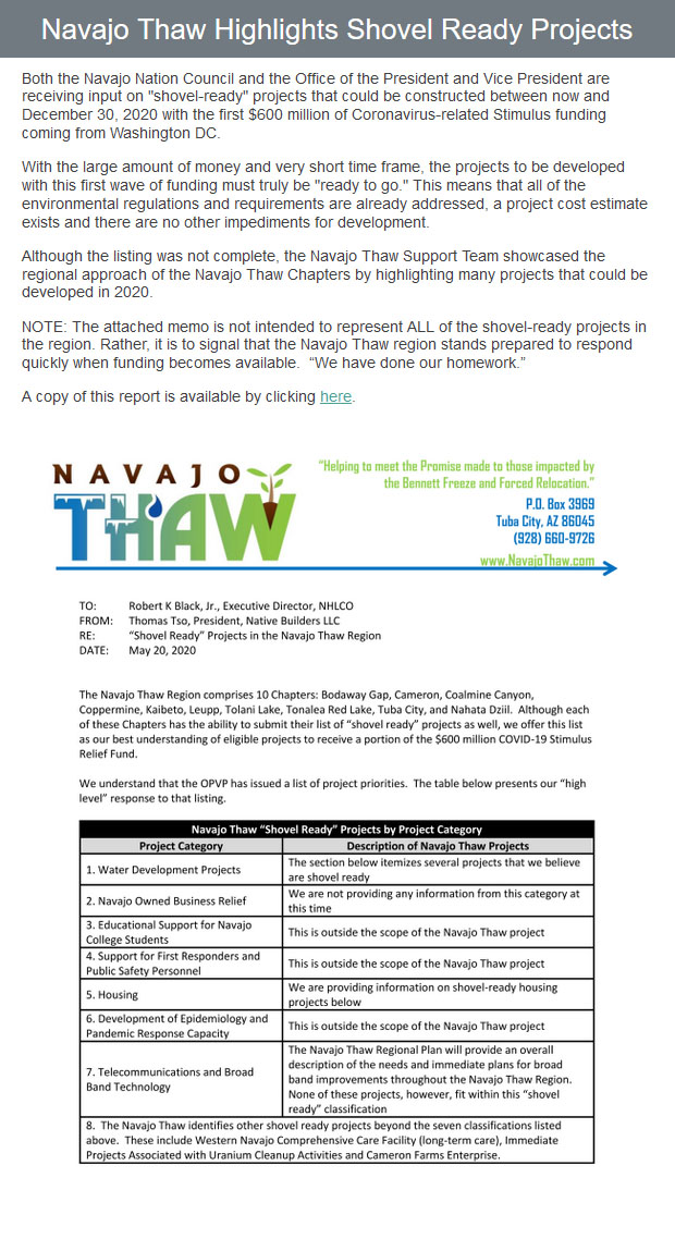 email-blast-Navajo-Thaw-Highlights-Shovel-Ready-Projects