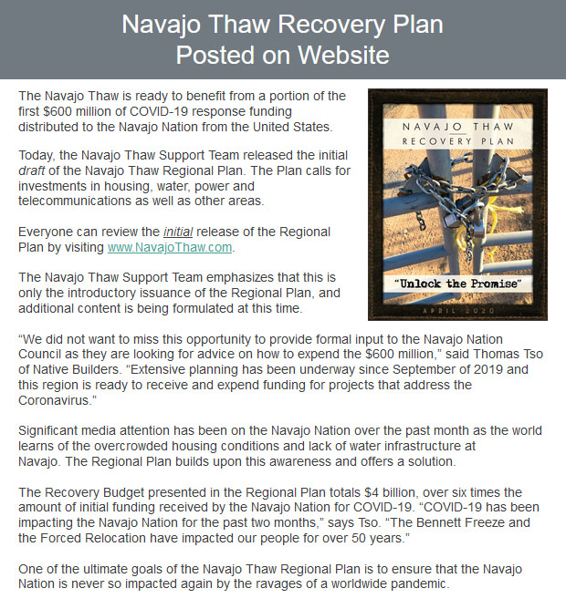 email-blast-Navajo-Thaw-Recovery-Plan-Posted-on-Website