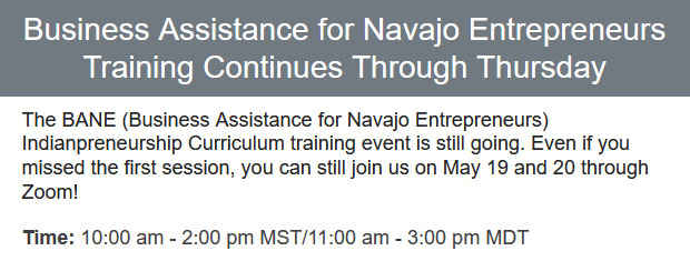 Business-Assistance-for-Navajo-Entrepreneurs-Training-Continues-Through-Thursday