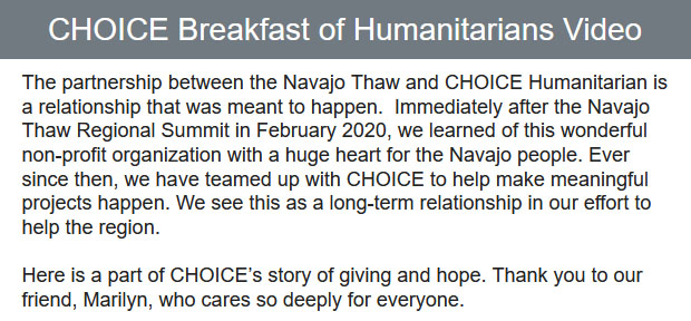 CHOICE-Breakfast-of-Humanitarians-Video