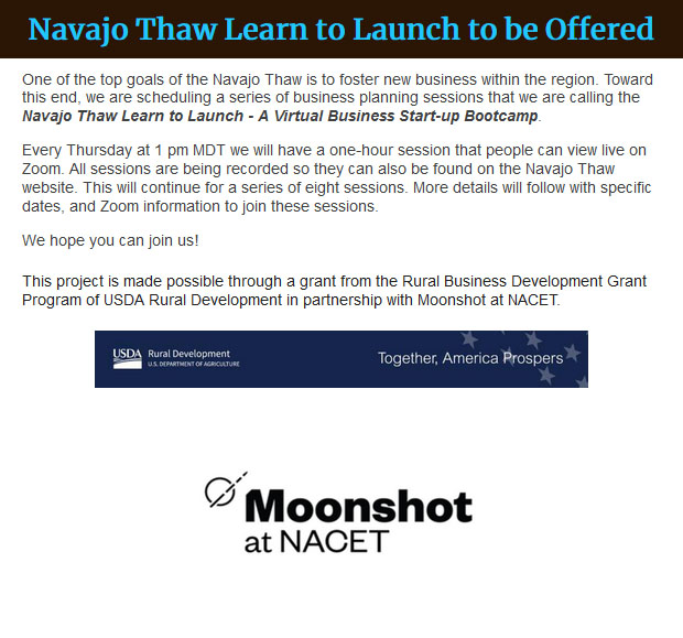 Navajo-Thaw-Learn-to-Launch-to-be-Offered
